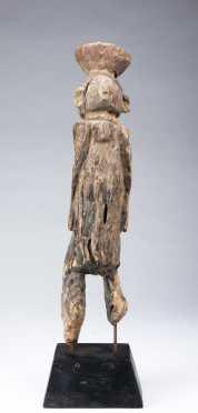 A fine and old Wurkun or Waja figure