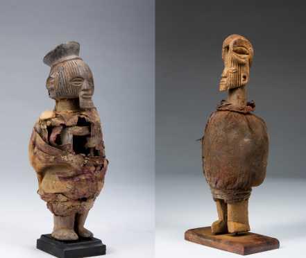Two Teke figures