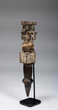 A Fine Bakongo Rattle