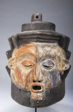 A Holo helmet mask