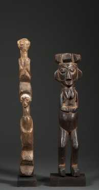 Two Yaka figures