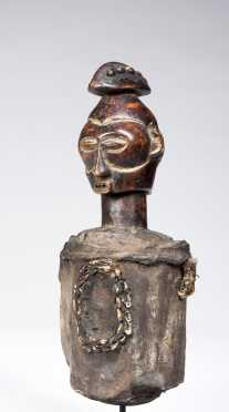 A rare and unusual Nkanu fetish figure