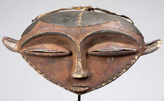 An Eastern Pende Buffalo mask