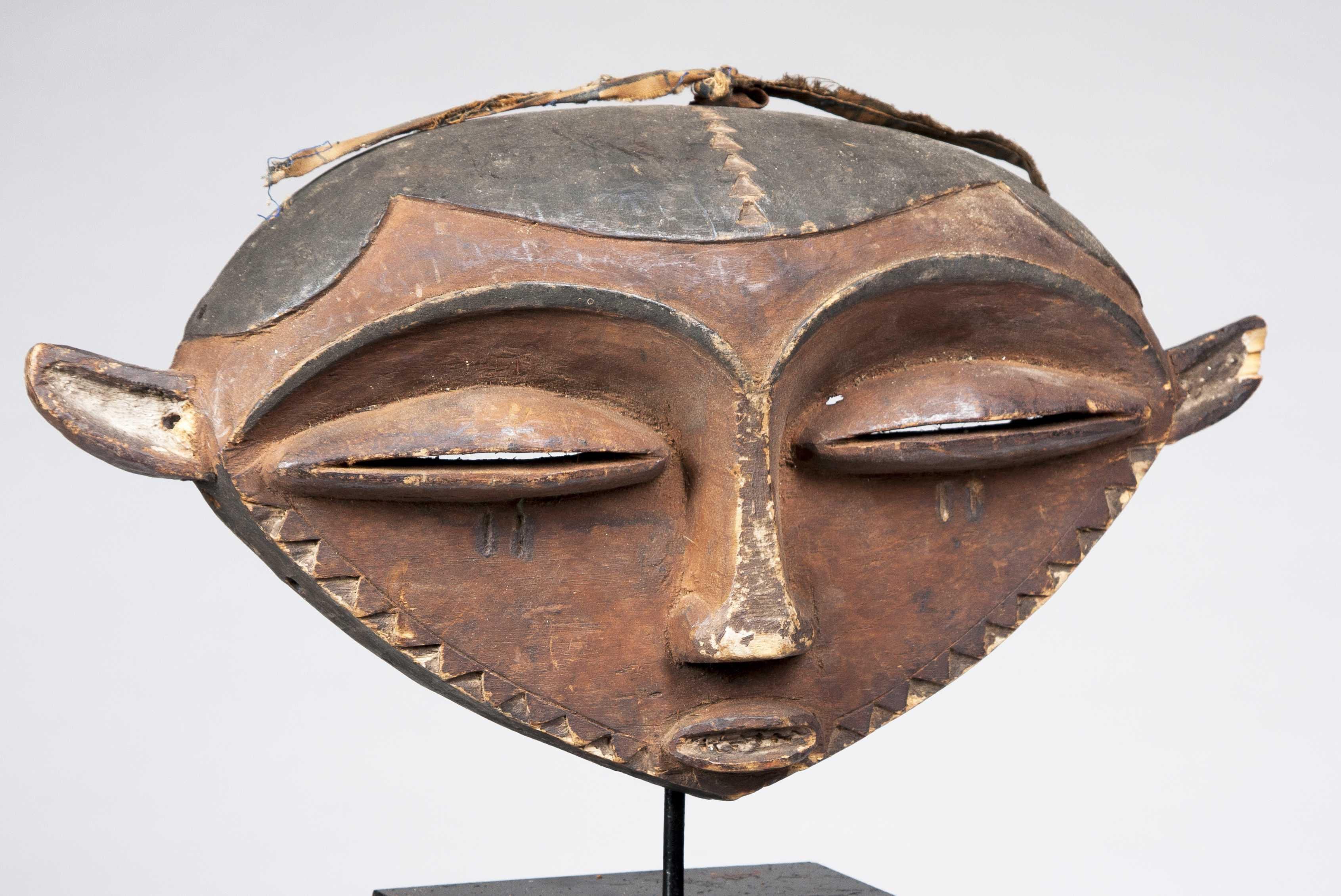 An Eastern Pende Buffalo Mask