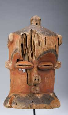 An old Eastern Pende mask