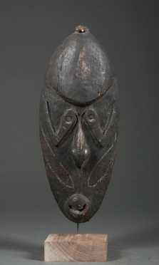 A Yuat dance mask, New Guinea