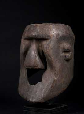 A fine and rare Northern Kuba helmet mask