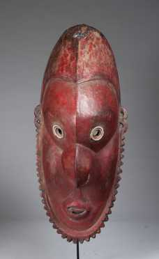 A fine Lower Sepik mask, Papua New Guinea