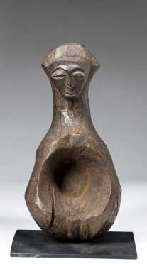 A Hemba or Kusu ritual mortar