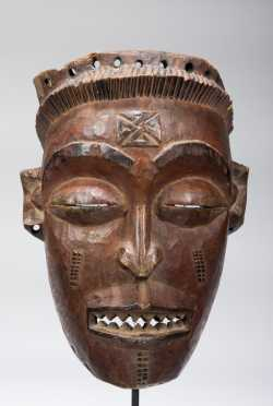 A Chokwe female mask