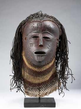 A fine Lwena mask