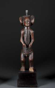 A superb Chokwe figure