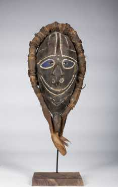 A Schouten islands mask, New Guinea