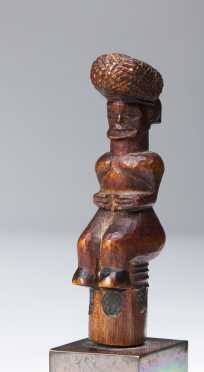 A lovely Lwena figural stopper