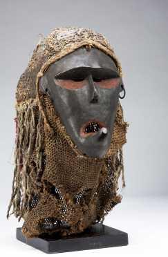A fine Chokwe Katoyo mask