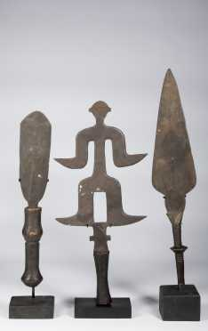 Three Central Africa swords