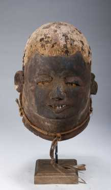 A fine Makonde Lipiko mask