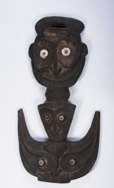 A Post-war Sepik hook figure