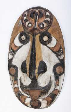 A Post-war Sepik mask