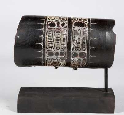 A fine Upper Sepik Shell armband, New Guinea