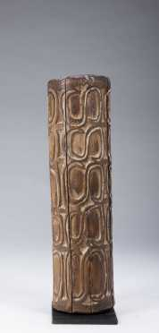 An Asmat head hunter's trumpet West New Guinea