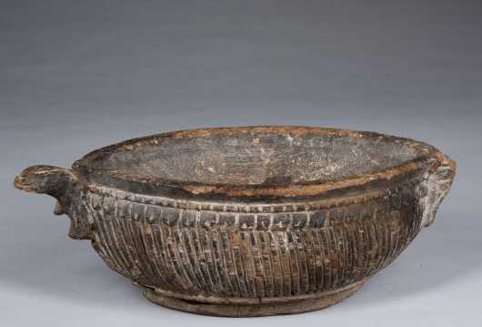 A Cook Island bowl, probably 20th Century