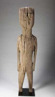 A Jorai standing figure, Vietnam