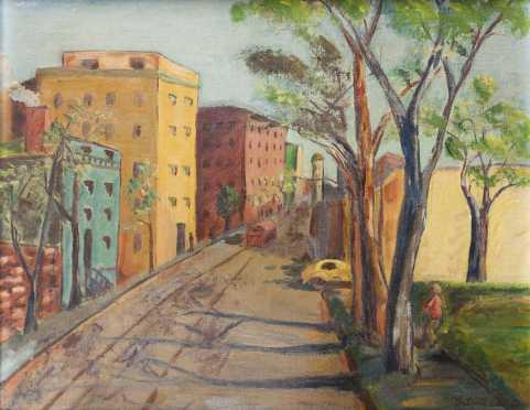 Antonio Pietro Martino City landscape