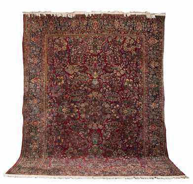 Sarouk Room Size Oriental Rug