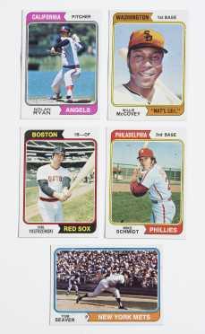 1974 Topps Baseball Near Set