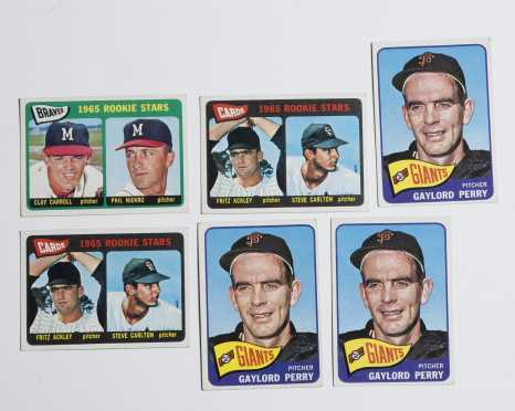 1965 Star Lot of 6 Cards