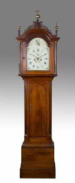 Connecticut Cherry tall case clock