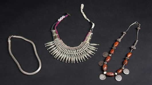 Three Indo-Himalayan Necklaces