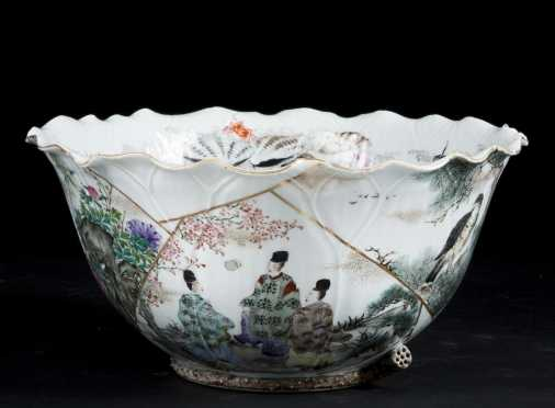 Japanese Scalloped Edge Bowl