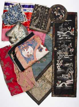 Chinese Textile Lot