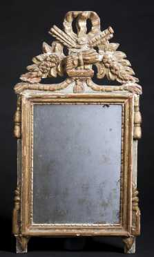 French Carved Gilded Mirror