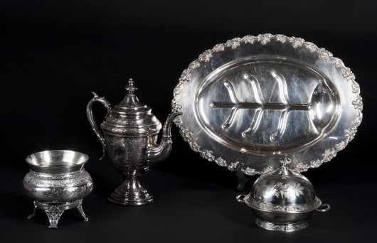 Lot of Silver Plate