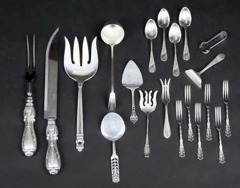Miscellaneous Sterling Lot
