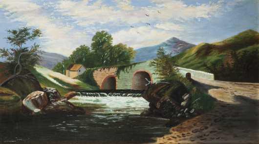 School of Thomas Chambers Landscape