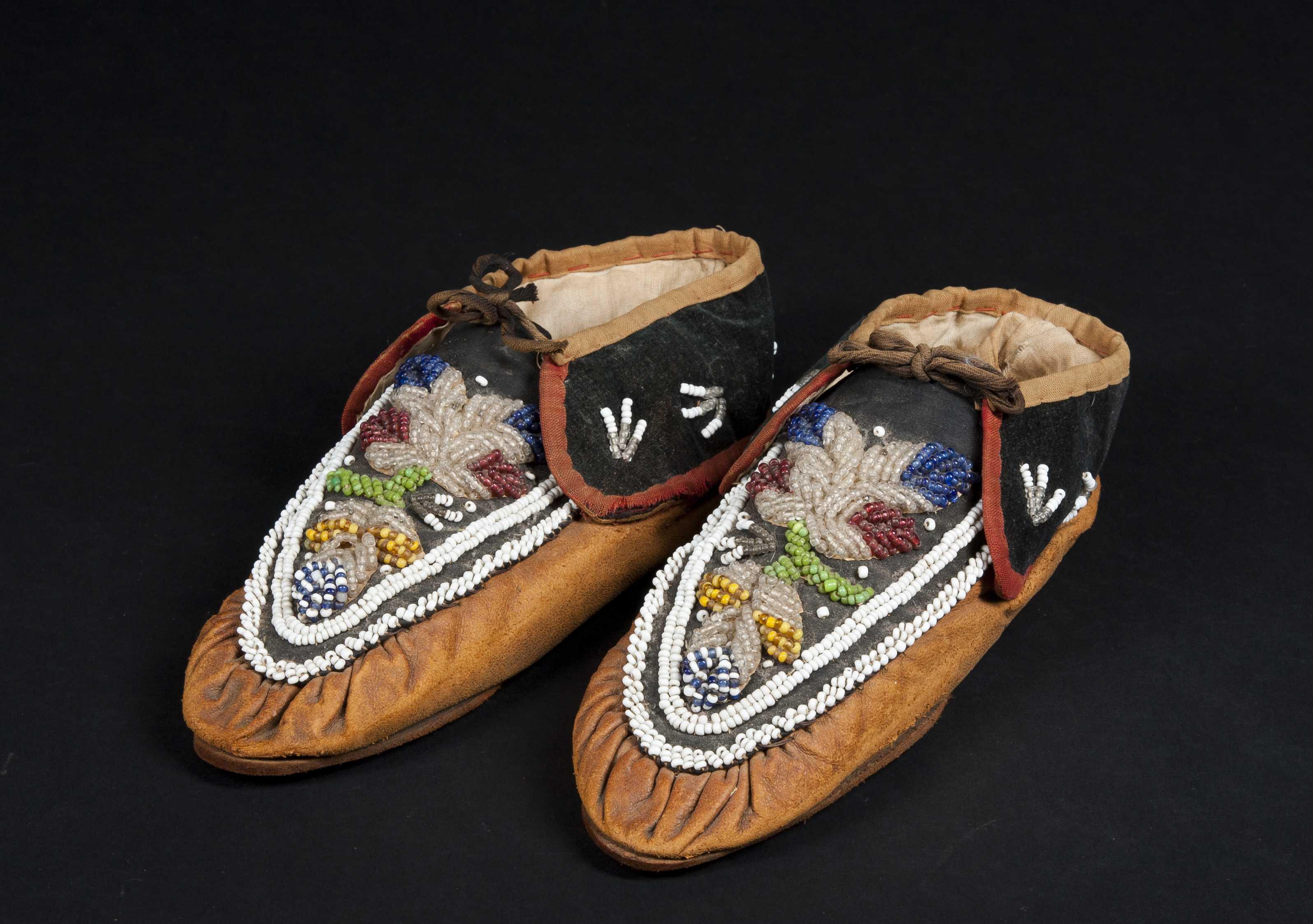 Индейские мокасины своими руками