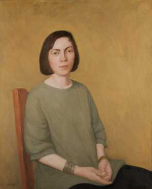 Patrick Connors Portrait of a woman