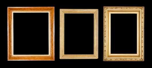Antique frame Lot