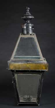 Early Copper and Tin Post lantern