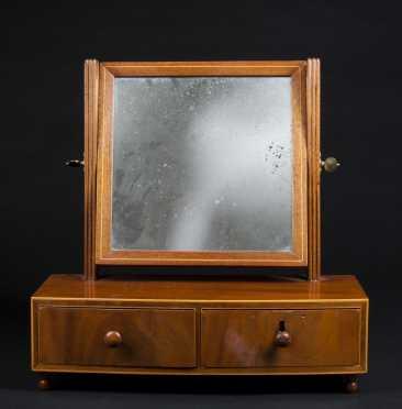 Hepplewhite Mahogany Dresser Stand