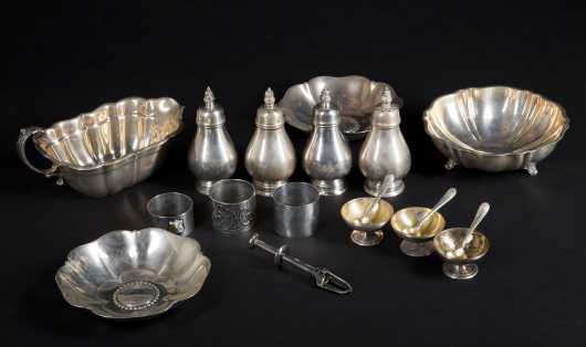 Tiffany and Co. and other Miscellaneous Sterling Silver.