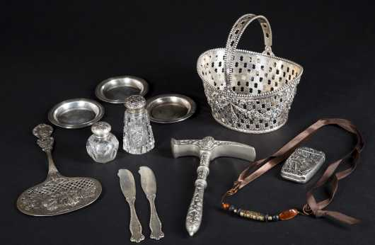Sterling Silver Miscellaneous Lot: