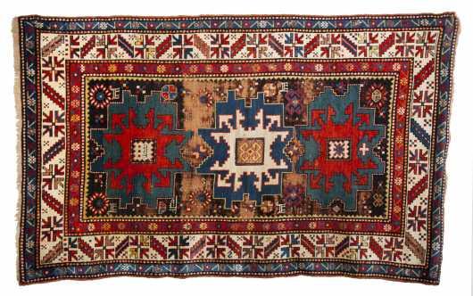 Cabistan Caucasian Oriental Scatter rug