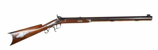 Half stock Percussion Cap Rifle