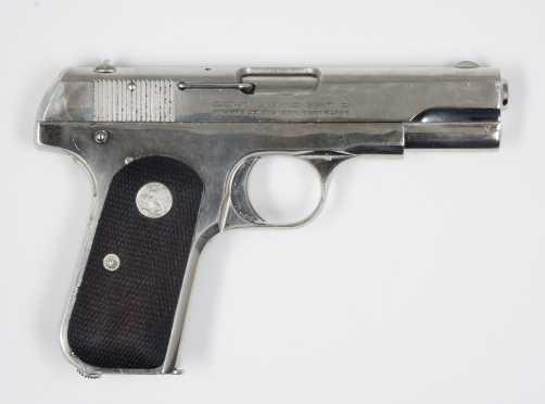 Colt Model 1903, Type III, .32 Automatic Pistol