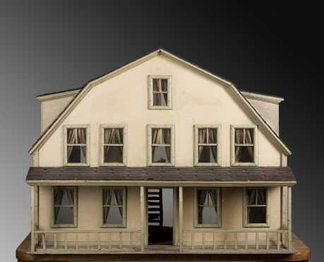 Gambrel Shaped Doll House